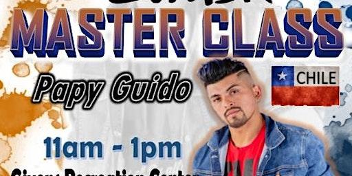 """Zumba Master Class con Papy Guido """"El Chilenito"""" Tour 2020"""