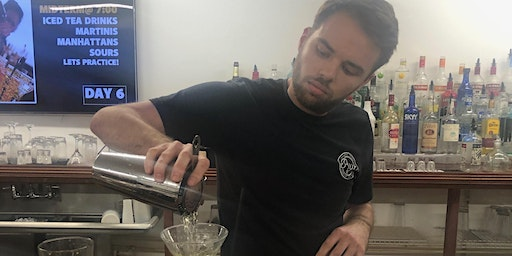 Principles of Bartending/Mixology| 2 Week PM Class | Starts March 2nd