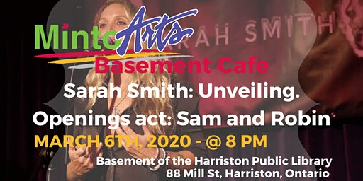 Basement Cafe presents: SARAH SMITH and Sam and Robin