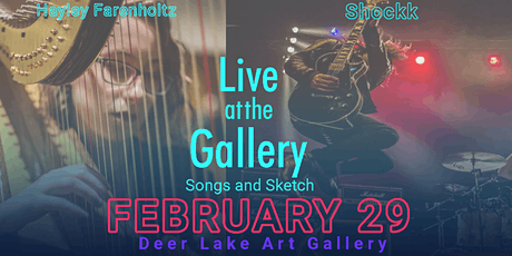 Live at the Gallery - Songs and Sketch tickets