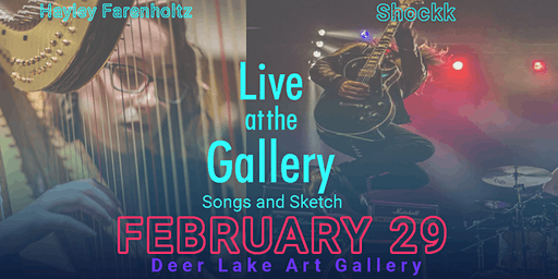 Live at the Gallery - Songs and Sketch