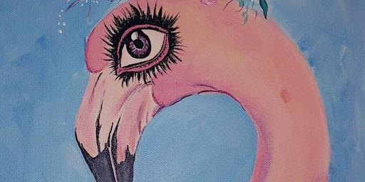 Paint & Sip - Flamingo