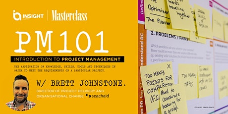 Project Management 101: Introduction to Project Management | Masterclass tickets