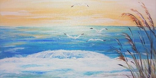 Paint & Sip - Quiet Beach