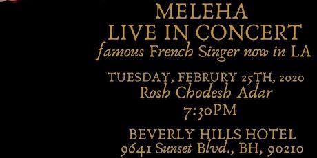 MELEHA Live In Concert tickets
