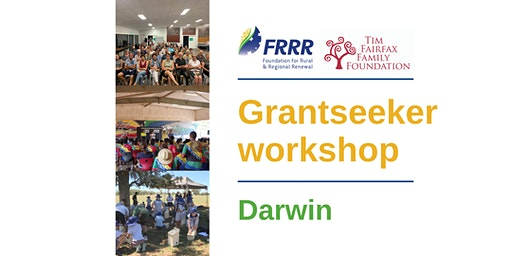 Free grantseeker workshop - Darwin