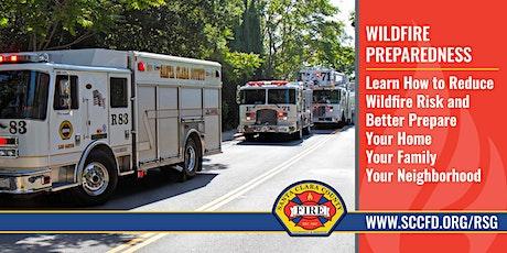 POSTPONED Saratoga Wildfire Preparedness Community Workshop tickets