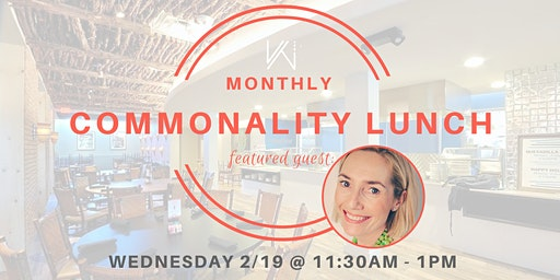 Women's Tech Co.  Commonality Lunch  - featuring Anna Robinson