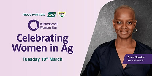 Celebrating Women in Ag - International Women's Day