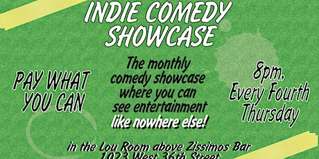 Indie Comedy Showcase tickets