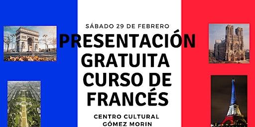 Presentación GRATIS de Curso de Francés