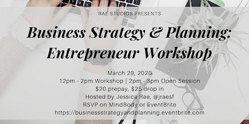 Business Strategy & Planning: Entrepreneur Workshop