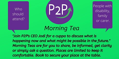 Morning Tea with the CEO - Buderim tickets