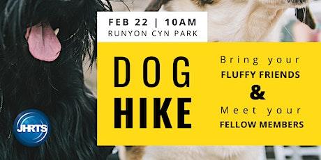 JHRTS LA Runyon Canyon DOG HIKE tickets