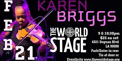 The World Stage presents *KAREN BRIGGS - KORTET*