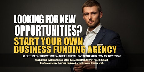 Start your Own Business Funding Agency Baltimore MD tickets
