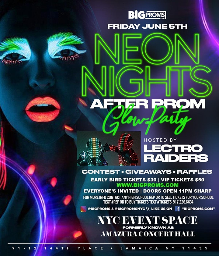 NEON NIGHTS AFTER PROM image