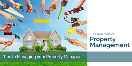 Fundamentals of Professional Property Management tickets
