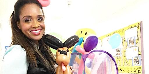 Smile for kids! Balloon Animals! March Break Weekend.