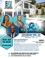 Home Buying and Headshots