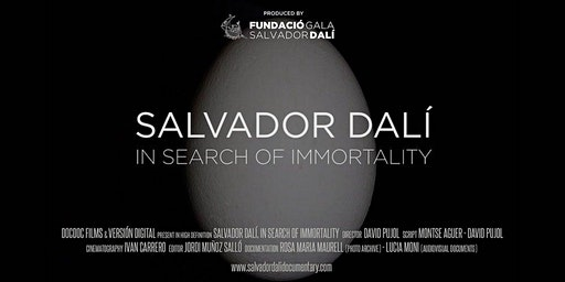 Salvador Dali: In Search Of Immortality  - Byron Bay Premiere - 5th March