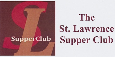 St Lawrence Supper Club - May 25 tickets