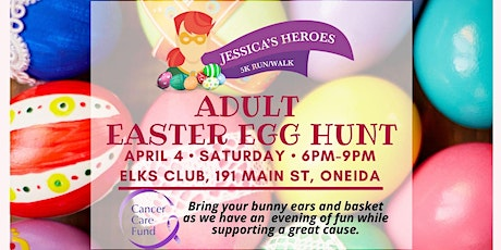 Jessica's Heroes Adult Easter Egg Hunt tickets