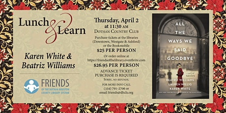 Friends of the Library Lunch & Learn with Karen White & Beatriz Williams tickets