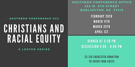 Christians and Racial Equity tickets