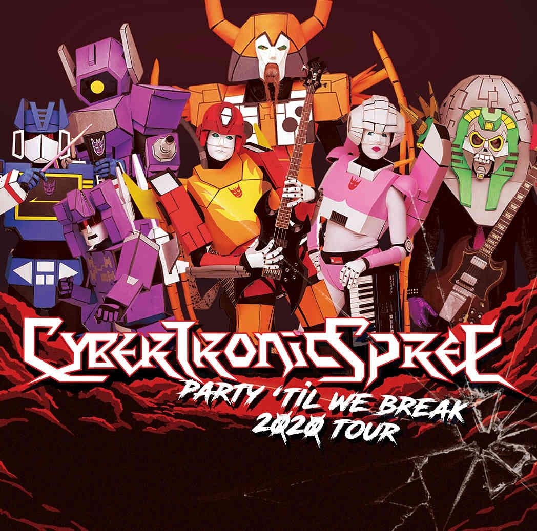 """The """"Party 'Til We Break"""" tour featuring The Cybertronic Spree in Orlando at the Abbey"""