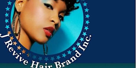 J Revive Hair Brand show case & Pop up shop tickets