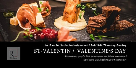 St-Valentin / Valentine's Day  tickets