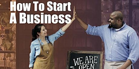 "BusinessSource Center ""How to Start a Business"" Workshop tickets"