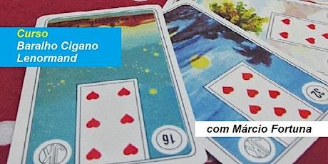 Curso Baralho Cigano – Márcio Fortuna ingressos