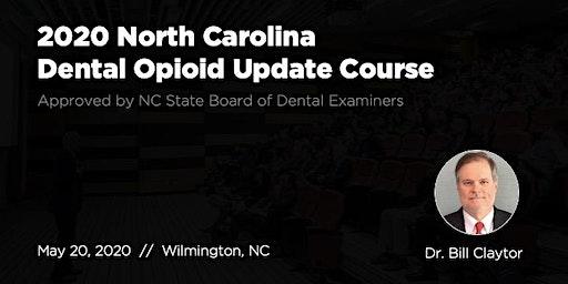 5/20/20 NC Dental Opioid Update Course