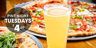 Texas Craft Beers Pint Night at Warpath Pizza