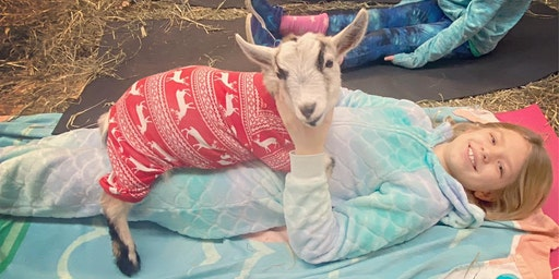 Feels Like OM Goat Pajama Party
