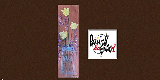 Paint and Enjoy for a good Cause at Belmont Bean Co. (Wood Board )