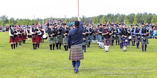 ASHG Piping and Drumming Registration - 2020 Alaska Scottish Highland Games