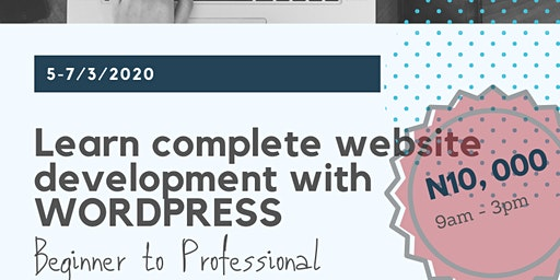 Learn Complete Website Development with WordPress
