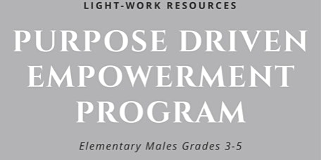 Male Youth Purpose-Driven Empowerment Program