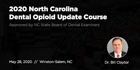 5/28/20 NC Dental Opioid Update Course tickets
