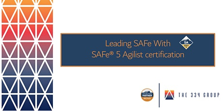 Leading SAFe With SAFe® 5 Agilist certification tickets