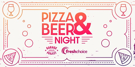 Garage Project Pizza and Beer Tasting tickets