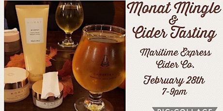 Monat Mingle and Cider Tasting tickets