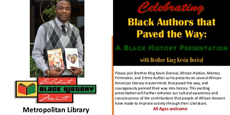 Black Authors That Paved The Way | Black History Presentation tickets