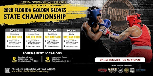 2020 Florida Golden Gloves Tournament