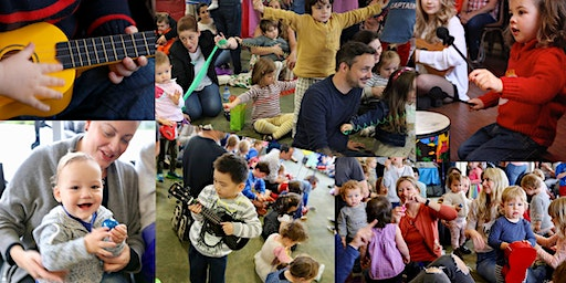 FREE February Fun at Ukubebe Music Playgroups for Pre-Schoolers