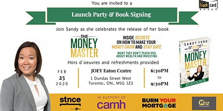 The Money Master - Launch Party & Book Signing tickets