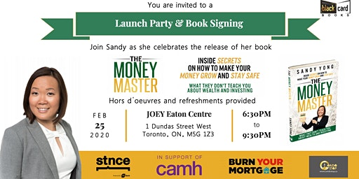 The Money Master - Launch Party & Book Signing
